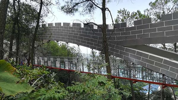 重庆玻璃桥客户见证