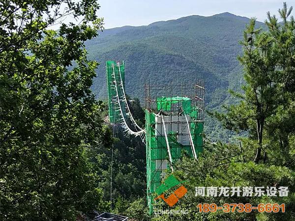 琵岩山吊桥项目